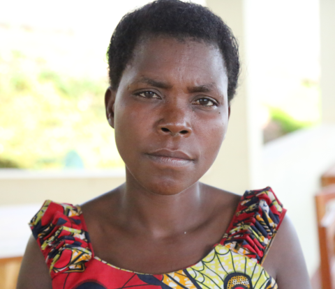 Gertrude Cimpaye is a 37-year-old smallholder dairy producer in Bubanza Village, Province of Bubanza.