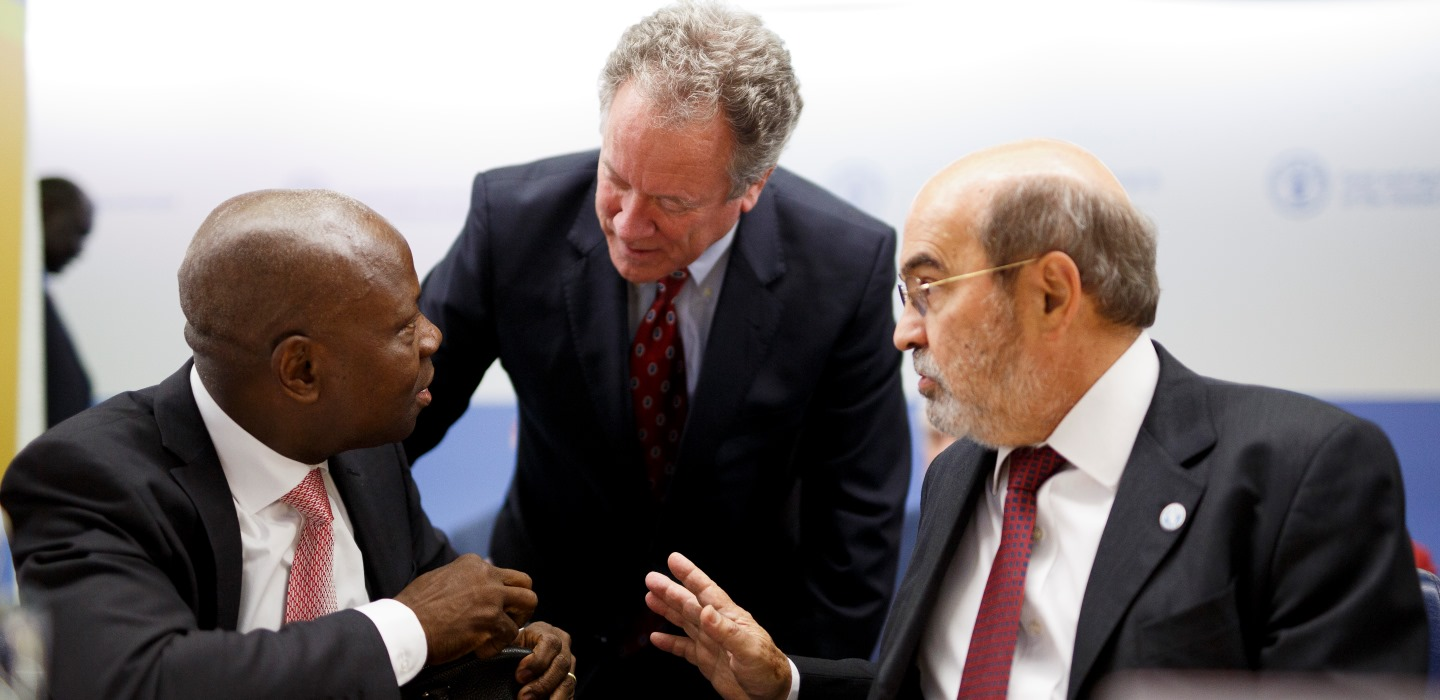 FAO, IFAD and WFP join efforts to eradicate hunger and malnutrition