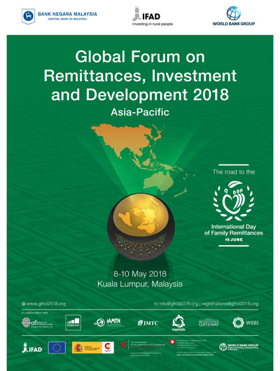 Global Forum on Remittances, Investment and Development 2018, Asia