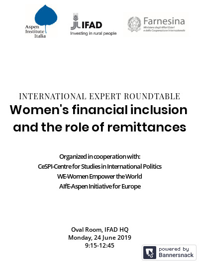 Women's financial inclusion and the role of remittances