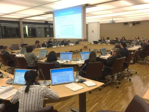 In-house learning event on the CLE-PBAS, 9 March 2016, IFAD headquarters. Photo by Maurizio Navarra.