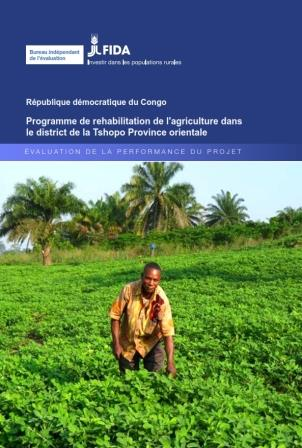 Democratic Republic of the Congo Agricultural Rehabilitation Programme in Orientale Province Project Performance Evaluation