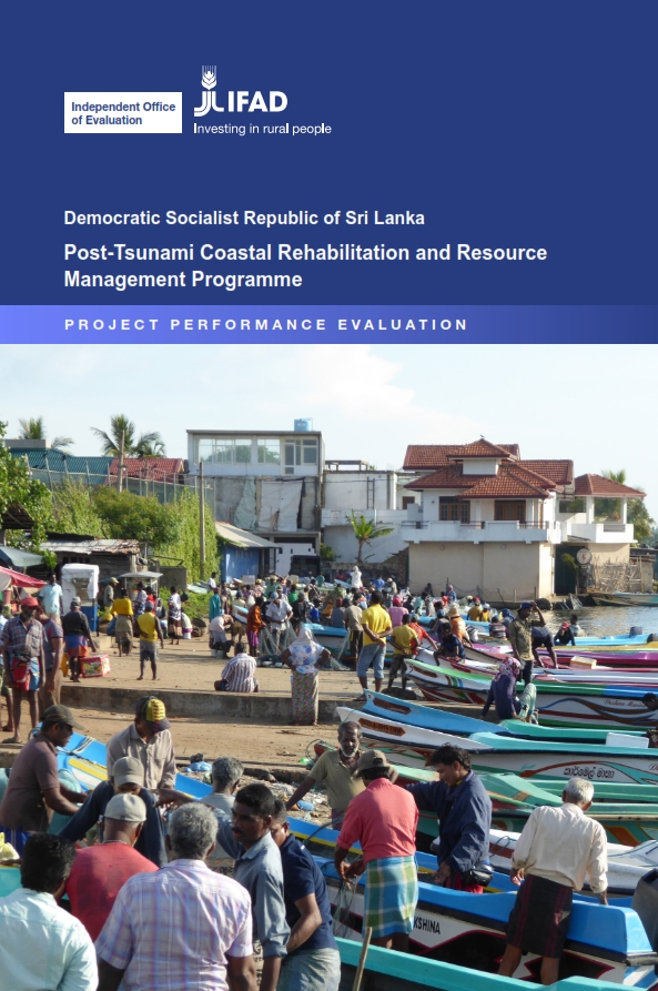 Democratic Socialist Republic of Sri Lanka: Post-Tsunami Coastal Rehabilitation and Resource Management Programme - Project Performance Evaluation