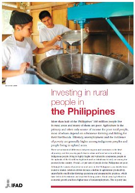Investing in rural people in the Philippines